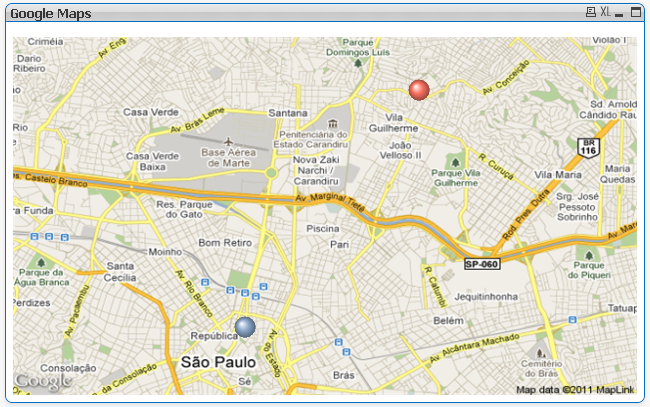Qlikview w Google Maps