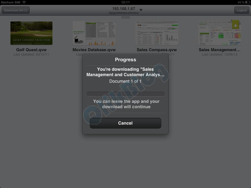 12 - Acesso Offline iPad